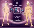 Interactive cartoon models creation in free porn game