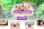 Gay harem game with yaoi porn