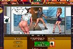Browser games getting it on with two curvy hot babes